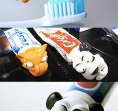 Toothpaste Caps