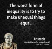 An Insight On The Equality Debate