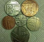 Hidden In England's Coins