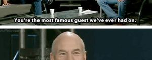 Patrick Stewart Telling It Like It Is
