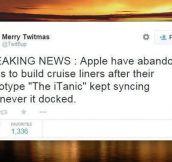 Apple's Cruise Plans