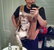DIY Cat Chest Harness