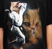 Karate Cat T-Shirt