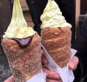Donut Icecream Cones