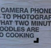 Camera Phones Vs. Real Photography