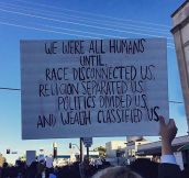 They Say We Are All Humans
