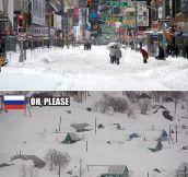 Winter Season Around The World