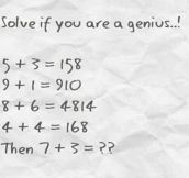 If You're A Genius