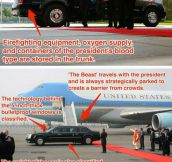 Where To Be During An Apocalypse: Obama's Car