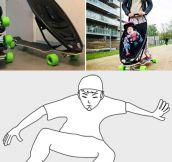 Tony Hawk's Baby Stroller