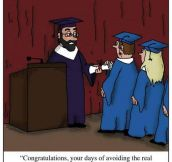 Graduating From Graduate School