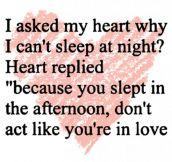 I Asked My Heart