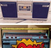 Painted Boombox Win