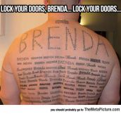 Be Warned, Brenda