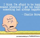 Afraid To Be Happy