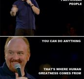 Louis C.K. On Our Human Nature