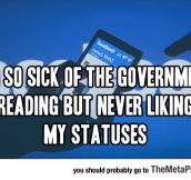 So Sick Of This Government