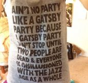 There's No Party Like A Gatsby Party