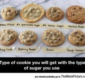 Cookies Vs. Sugar