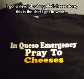 Cheesy Shirt