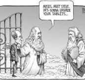 Moses, Meet Steve