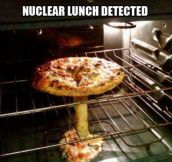 Nuclear Lunch Pizza