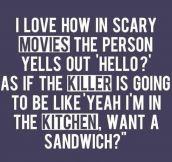 Scary Movies Logic