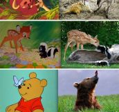 Classic Disney Movies In Real Life