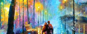 One Of The Most Beautiful Oil Paintings By Artist Leonid Afremov