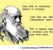 America And Evolution