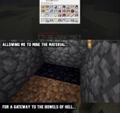 Sums Up Minecraft