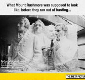 Mount Rushmore's Final Look