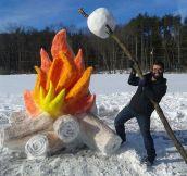 Impressive Snow Work