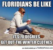 Floridian Winter