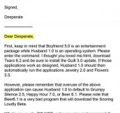 Dear Desperate
