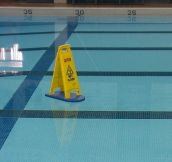 Wet Floor Warning
