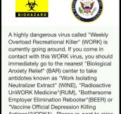 Highly Dangerous Virus