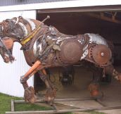 Epic Scrap Metal Stallion