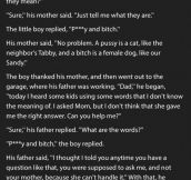 Little Boy Asks His Mom & Dad The Same Question. But The Dad's Reply Is Hysterical.