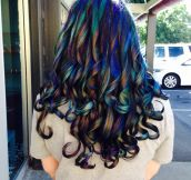 The Stylist Called It Oil Slick