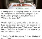 Customer Is Deeply Embarrassed When Delivery Boy Said This To His Face. But What Followed Is Genius.