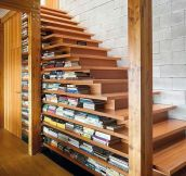 Pleasing Bookshelf Stairs
