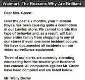This Man Got Banned From Walmart. Someone Give Him A Medal.
