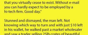 This Guy Couldn't Get A Janitor Job, But Had The Best Response Years Later.