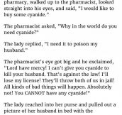 Pharmacist Was Outraged When Woman Said She Wanted To Buy This. Until She Showed Him THIS.
