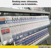 Weird News From China