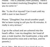 This Girl Did This After The Boy At School Twanged Her Bra. What Followed Next Is Gold.