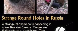 Mysterious Round Holes In Russia