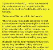 Woman Argues With Her Husband About Adopting His Daughter From His Last Marriage. But Her Reasoning Is Heartbreaking.
