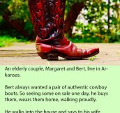 Her Husband Threw A Fit When She Didn't Notice His New Boots, But Her Response Is Pure Gold.